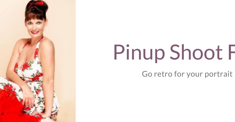 RETRO PINUP | STUDIO PORTRAIT WITH A FUN TWIST