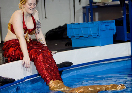 MERMAID DISCOVERED IN AYLESBURY