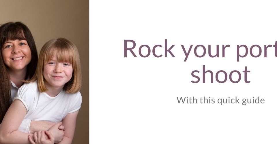 Rock you portrait shoot - with this quick guide